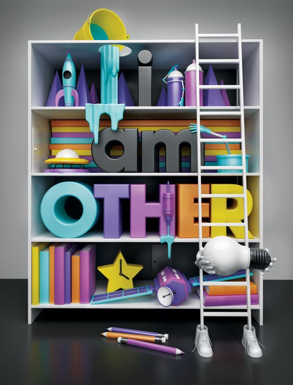 i am OTHER by Duncan Sham, via Behance