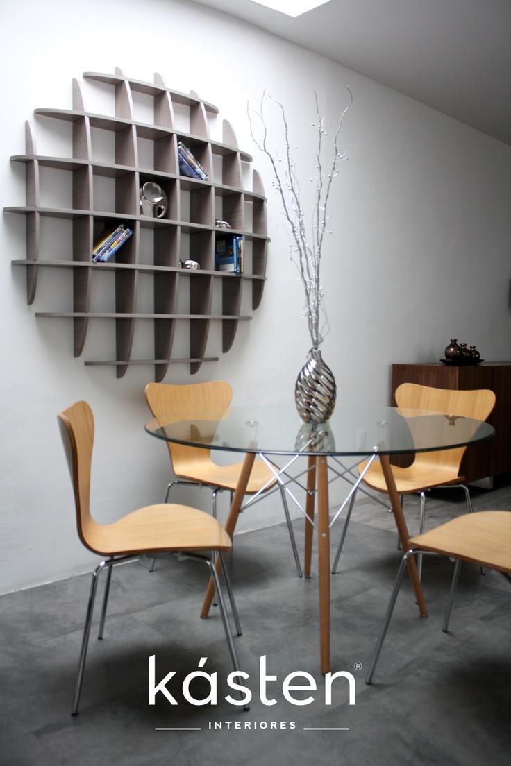 comedor mesa logs con cristal templado de de dimetro sillas spain