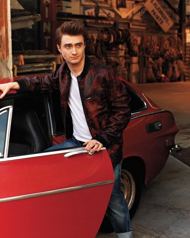 Daniel Radcliffe. I want a ride.