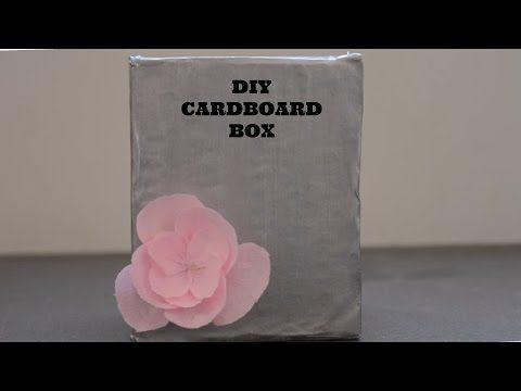 DIY: Cardboard Box - YouTube