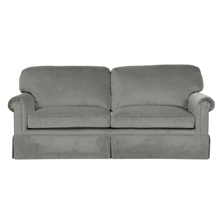 Tufted Sofa The MONTREAL Sofa is a Knife Edge Back Sofa with Rolled Arm and Kick Pleat Skirt View the series and browse Duralee us collection of Sofas