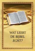 Wat leert de bijbel echt? - boek