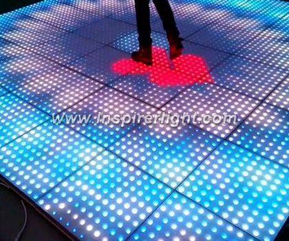 Interactive LED floor 12x12 dots