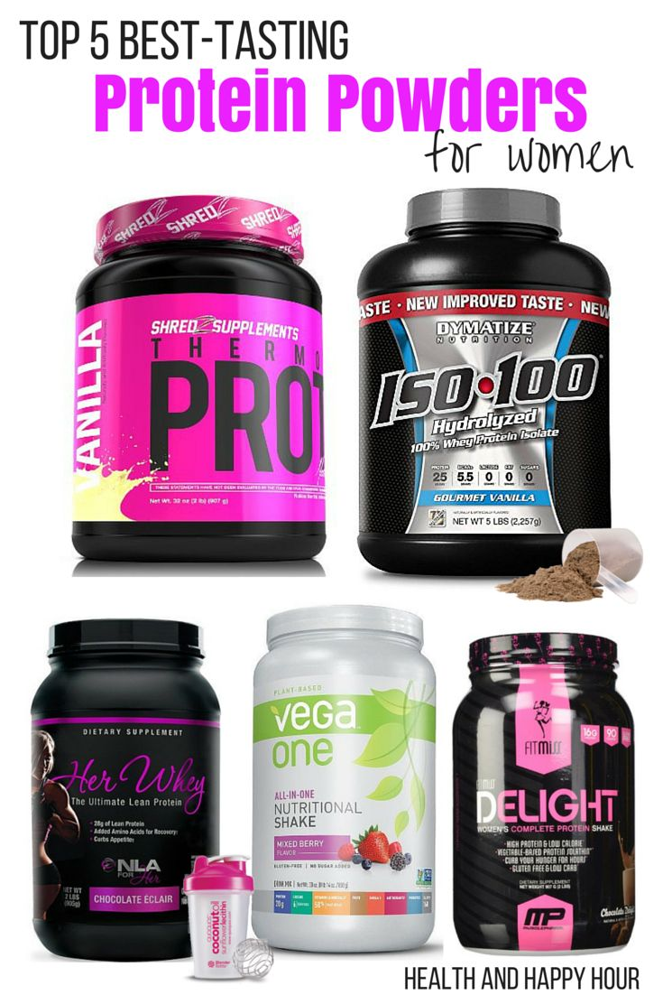 top 5 best tasting protein powders for women powder for