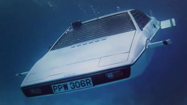 James Bond Lotus Esprit Submarine For Sale - Now on eBay For $1 Million