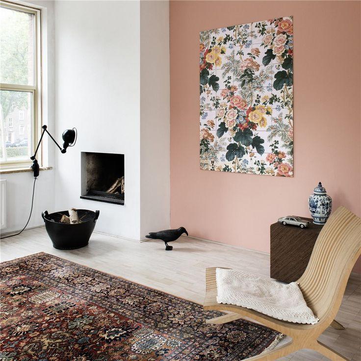 Haal een beetje flowerpower in huis met dit kleurrijke wandsysteem van IXXI! Deze vrolijke bloemen komen uit het Victoria and Alber Museum uit Londen; een echt museumstuk dus. Deze IXXI fleurt jouw interieur in no-time helemaal op!