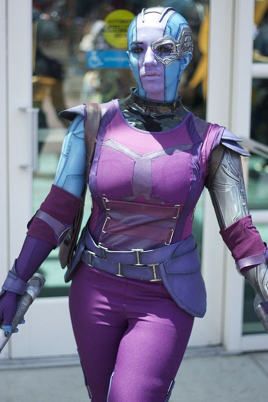 guardians nebula cosplay - photo #11