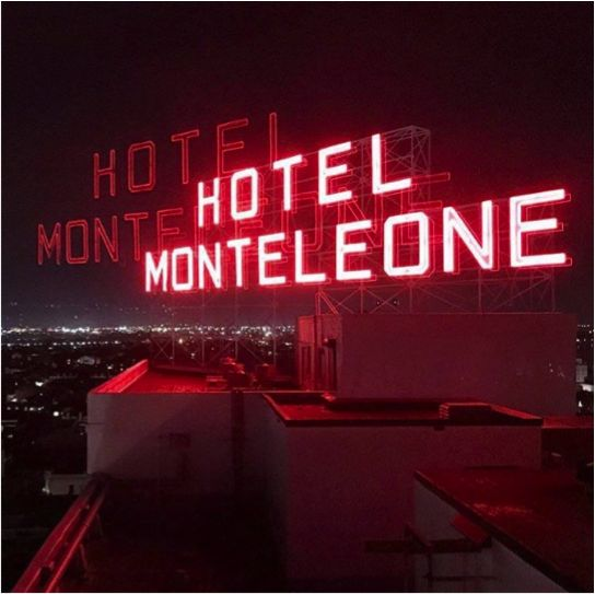 The weekend is officially live at the Monteleone. (Photo by @anthonyd42 via Instagram)