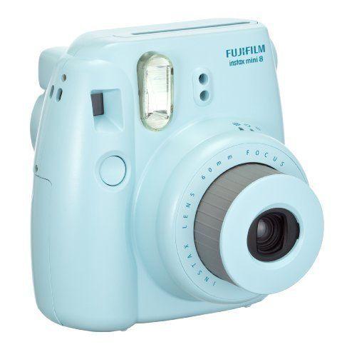 Pastel blue Fujifilm Instax Mini 8 Camera | Christmas Gifts for Teen Girls