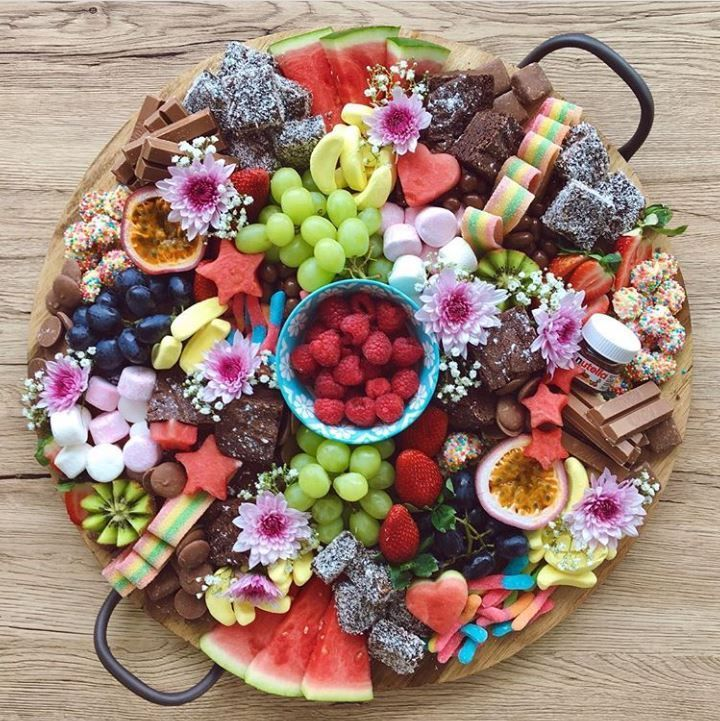 @rusticplatterco Grazing Platter of epic proportions! We love this idea and it looks amazing!