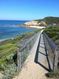 Walking trails in the Mornington Peninsula National Park.www.lovethepen.com.au