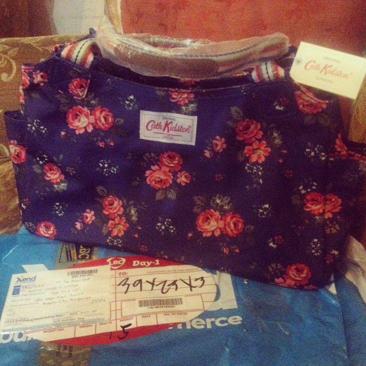 My 1st Cath Kidston Daybag... Lovely bag!!!