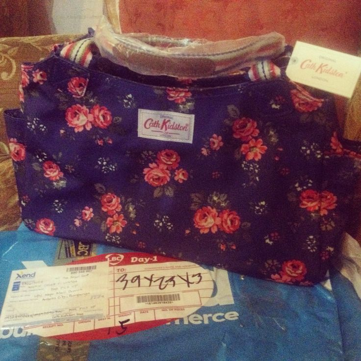 My 1st Cath Kidston Daybag... Lovely bag!!!