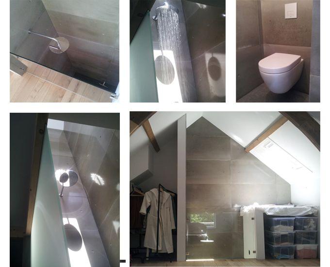 85 besten Betonnen badkamer Bilder auf Pinterest   Betonwände ...