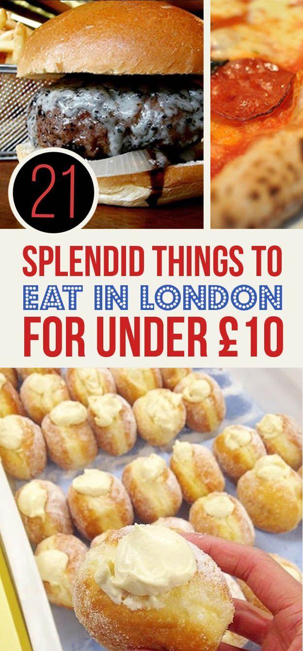 London muss nicht unbedingt teuer sein! Erfahrt hier, wie ihr zumindest beim Essen in der schönen Metropole sparen könnt. #London #Essen | Kolumbus Sprachreisen www.kolumbus-sprachreisen.de
