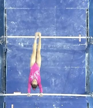 (gif of Madison Kocian's Pak+Chow 1/2)