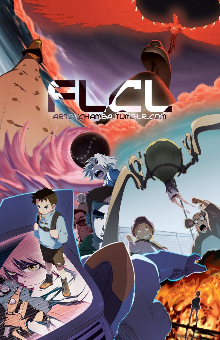 17 Best Images About Flcl On Pinterest Something New