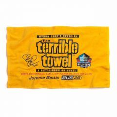 Pittsburgh Steelers Jerome Bettis Hall of Fame Terrible Towel