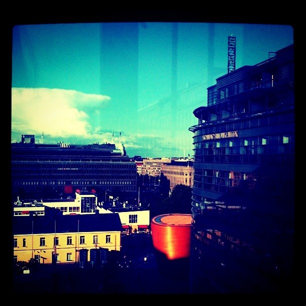 View from Kamppi 5th floor. Photo by UllaLydia feat Instagram