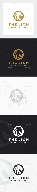 Lion Logo — Photoshop PSD #gold lion #royal • Available here → https://graphicriver.net/item/lion-logo/17647106?ref=pxcr