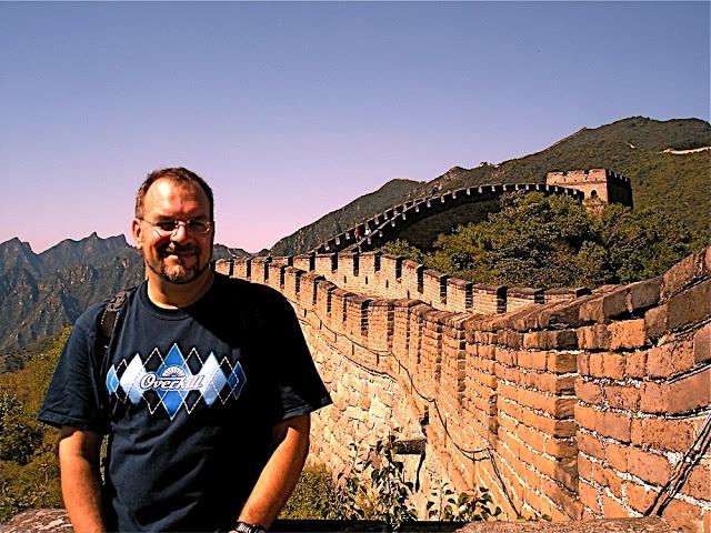Overkill up against the wall in China!