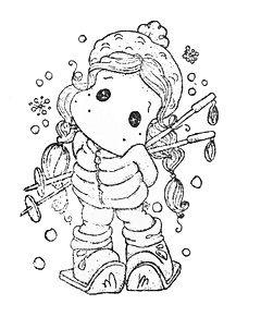 Waiting For Christmas - Ski Star Tilda