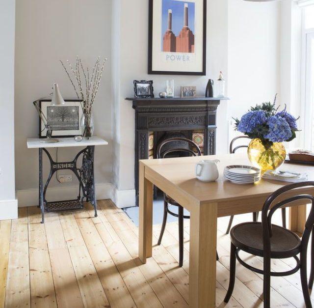 17 best images about house interiors on pinterest house for Victorian terrace dining room ideas