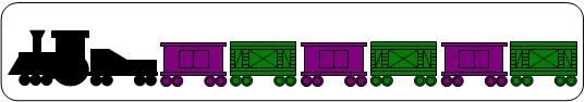 Train Patterning Activities- Free Printable - based on Freight Train by Donald Crews
