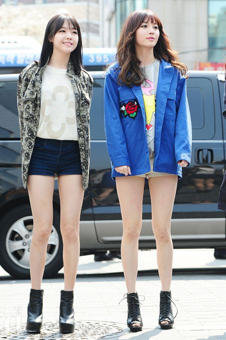 Kpop fashion~ Girl's Day - Minah and Yura
