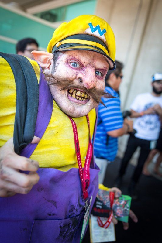 BEST WARIO EVER! #SDCC San Diego Comic Con 2014