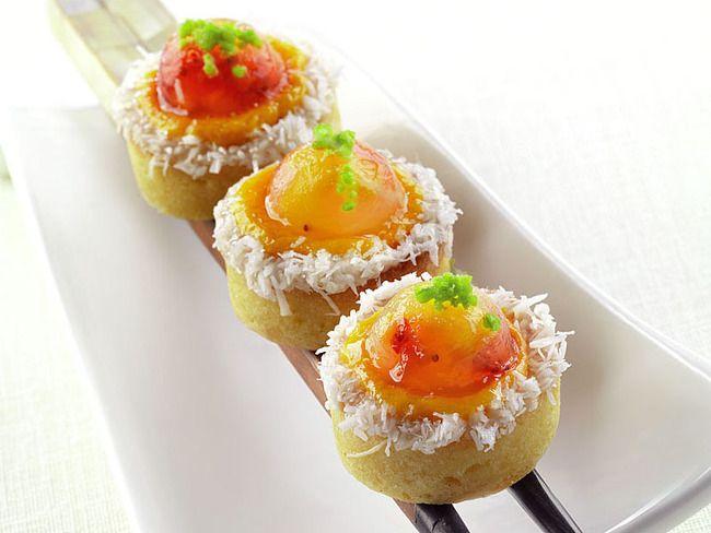 Tartellette alla crema di mango e aspic di frutta | Peccati di Gola