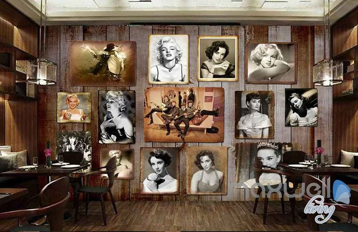 3D Classic Singer Movie Star Poster Wall Paper Mural Decals Media Room Decor Art IDCWP-MX-000037