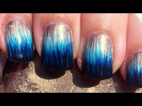 Ombre Dip Dye Nail Art Without A Sponge