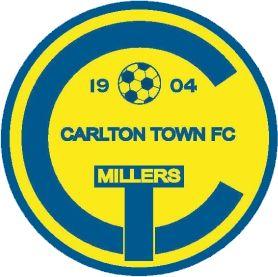 1904, Carlton Town F.C. (England) #CarltonTownFC #England #UnitedKingdom (L16448)