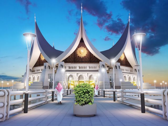 Sayembara Masjid Kota Pariaman ~ 1000+ Inspirasi Desain Teknologi Konstruksi Arsitektur