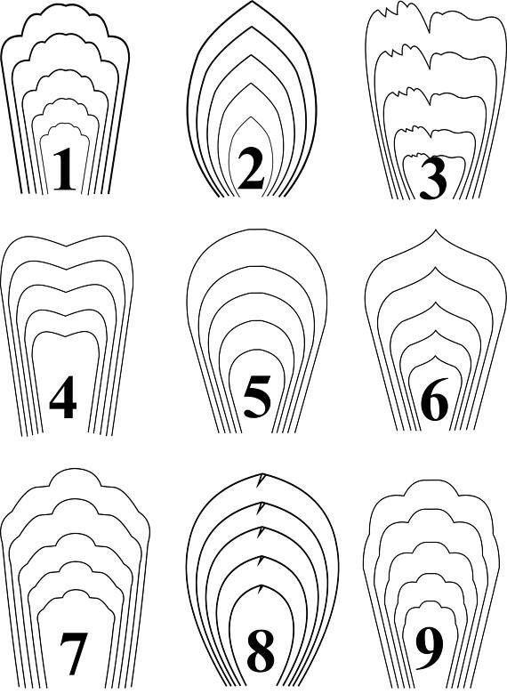 페이퍼꽃 만드는 방법 종이꽃 만들기 도안 네이버 블로그 paper