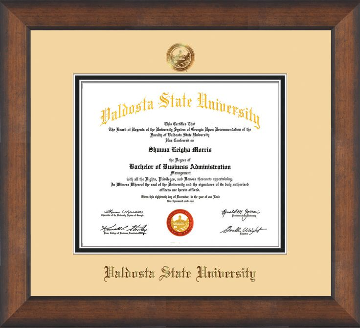 60 best Valdosta State University Diploma Frames & Graduation Gifts ...