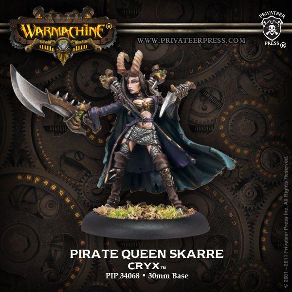 Pirate Queen Skarre Model Kit PIP34068 Privateer Press Cryx
