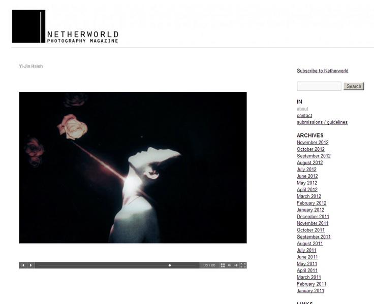Yi-Jin Hsieh / Netherworld Magazine