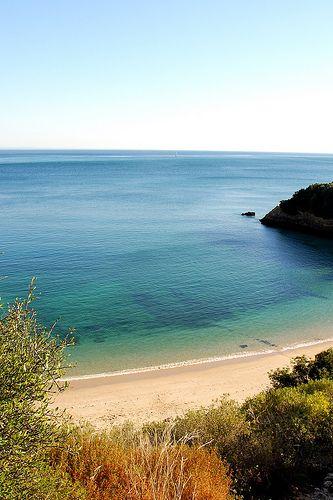 Praia dos Coelhos, Arrábida.