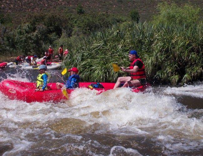 Aquatrails - River Rafting near Cape Town, South Africa