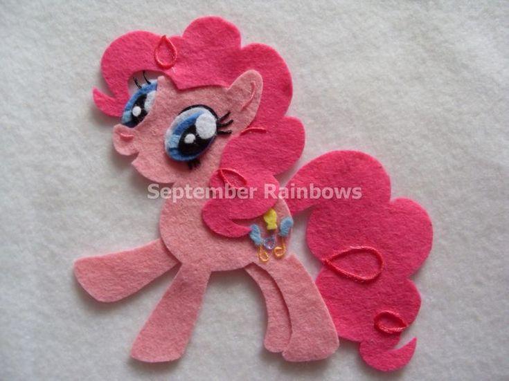 Pinkie pie felt