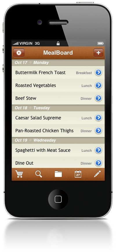 My favorite app.  I can save my recipes, plan my weekly menu and then sync them to make my grocery list.  I can even break the list down by the correct aisle in my local store.