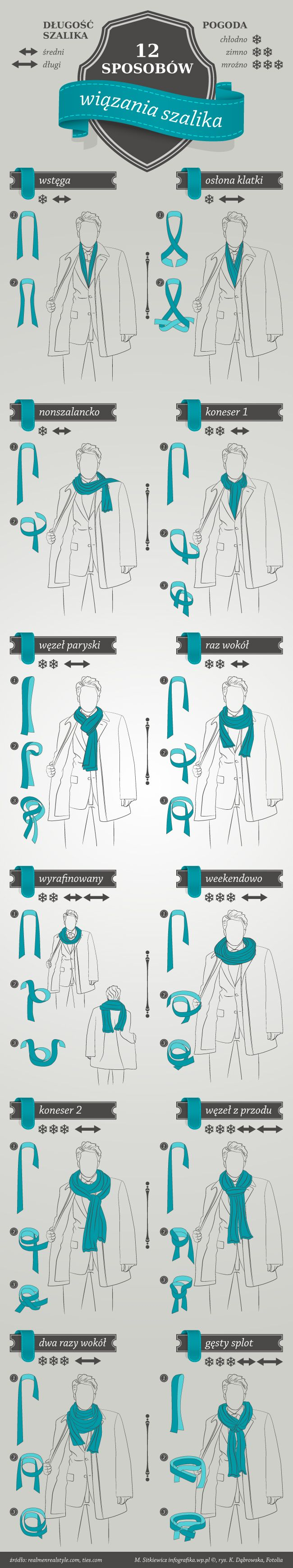 Jak zawiązać szalik