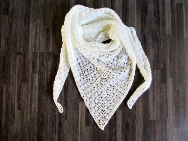 gehaakte zomer sjaal/omslagdoek