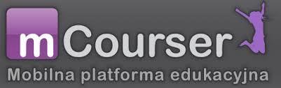 mCourser - bezpłatna platforma edukacyjna  Prosty i intuicyjny portal LMS zorientowany na urządzenia mobilne. Doskonały dla uczniów, korepetytorów i nauczycieli. Można tworzyć i wykonywać zadania, budować własną społeczność, monitorować wyniki pracy uczniów.