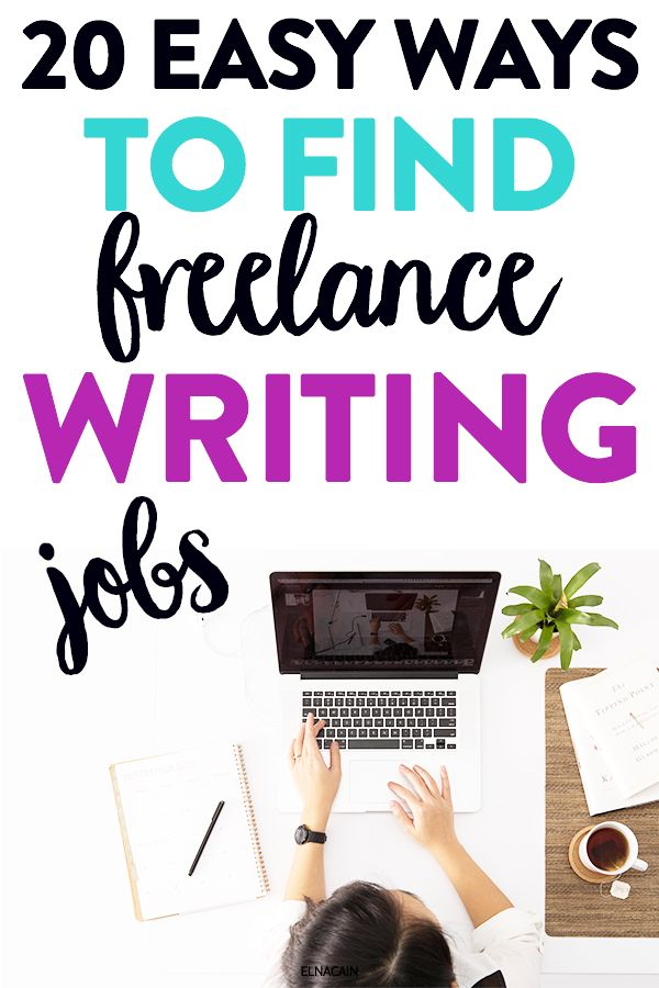 20 Ways To Find Freelance Writing Jobs As A Beginner Elna Cain Writing Jobs Freelance Writing Jobs Freelance Writing