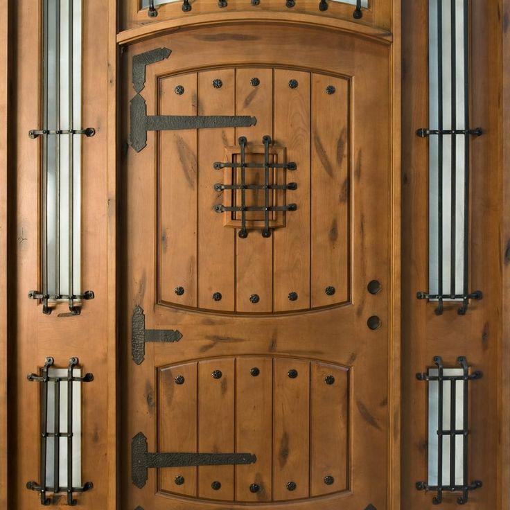 Rustic Wooden Exterior Doors