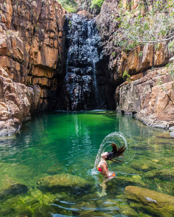 Buley Rockhole - a pocket of paradise in the outback!
