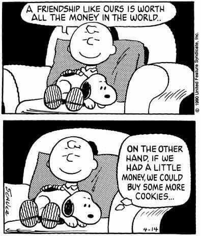Snoopy friendship